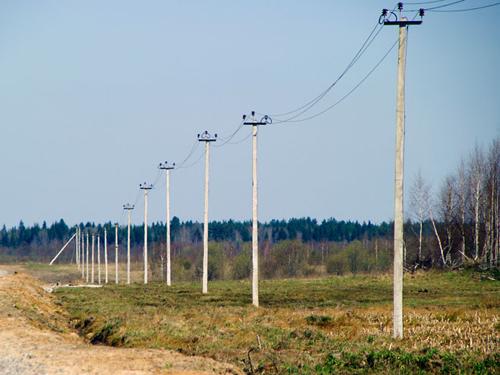 монтаж воздушных линий электропередачи напряжением до 1000в